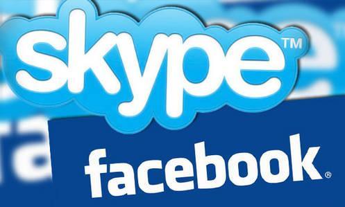 facebook+skype
