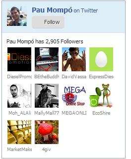 caja de seguidores twitter