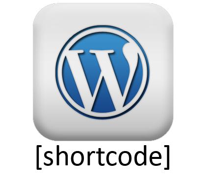 shortcode wordpress template